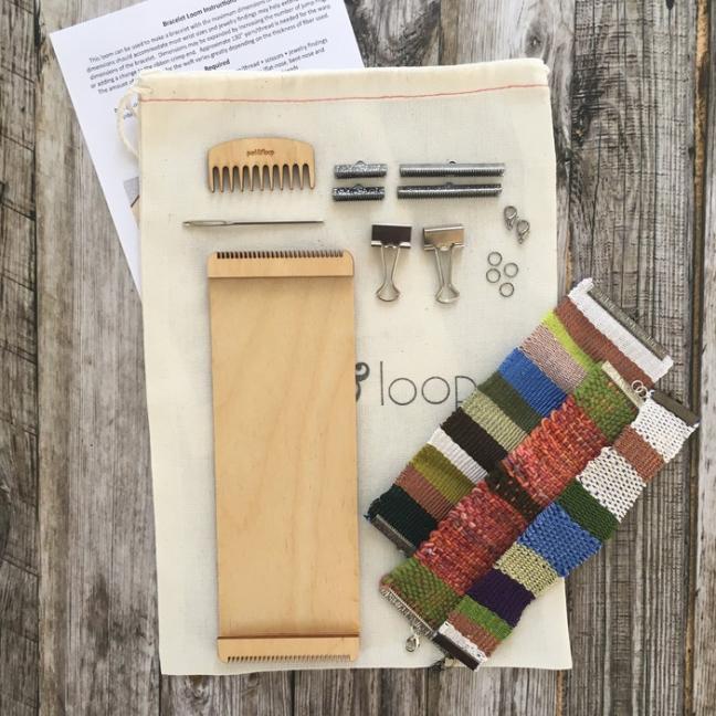 Purl & Loop Kit tissage de bracelet
