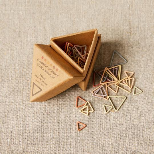 CocoKnits Anneaux marqueurs triangulaires