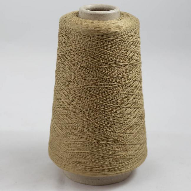 BC Garn Luxor Fino mercerized Cotton 200g Cone Sand