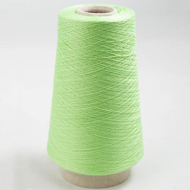 BC Garn Luxor Fino mercerized Cotton 200g Cone Maigrün