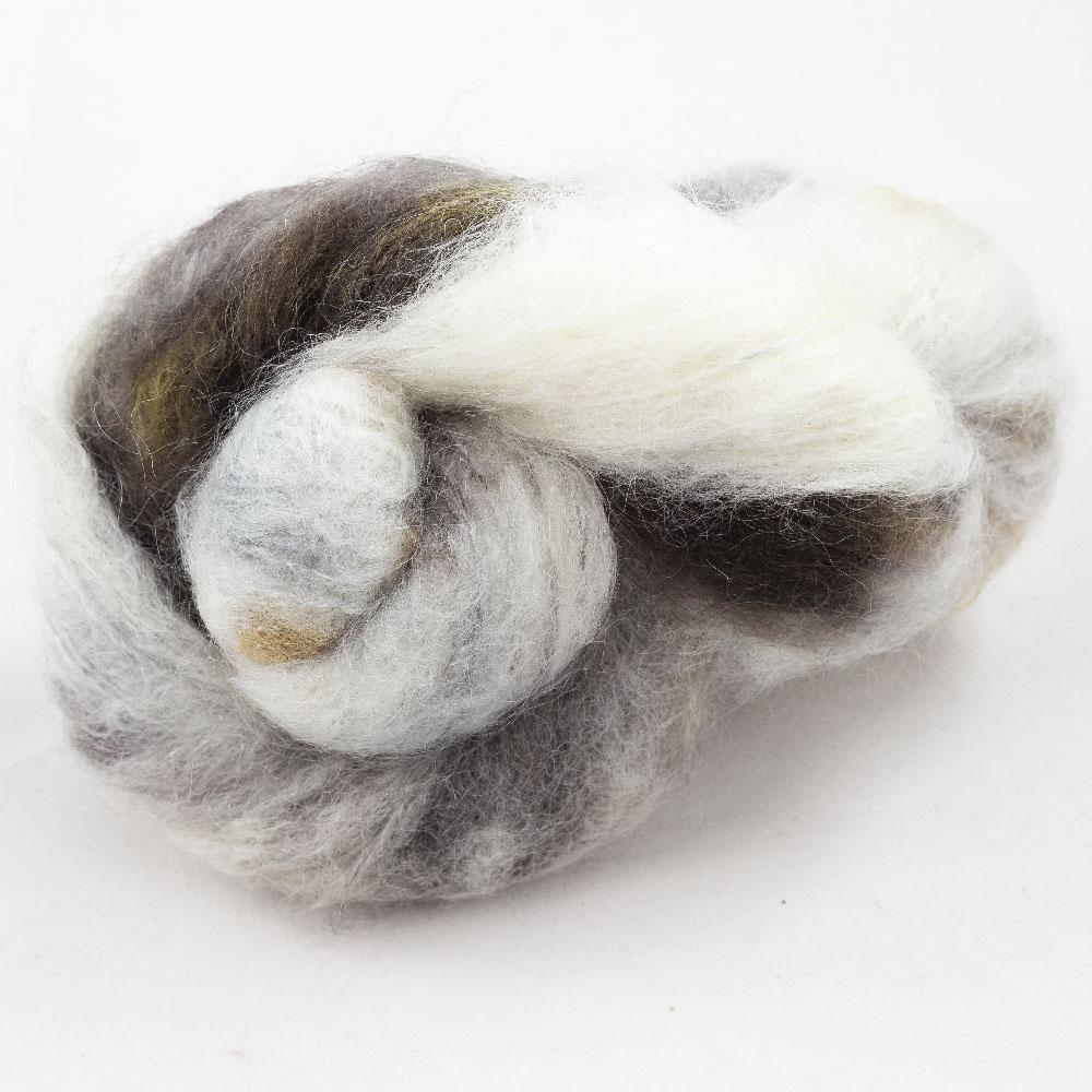 Cowgirl Blues Fluffy Mohair Gradient 100g Writing in the Sand