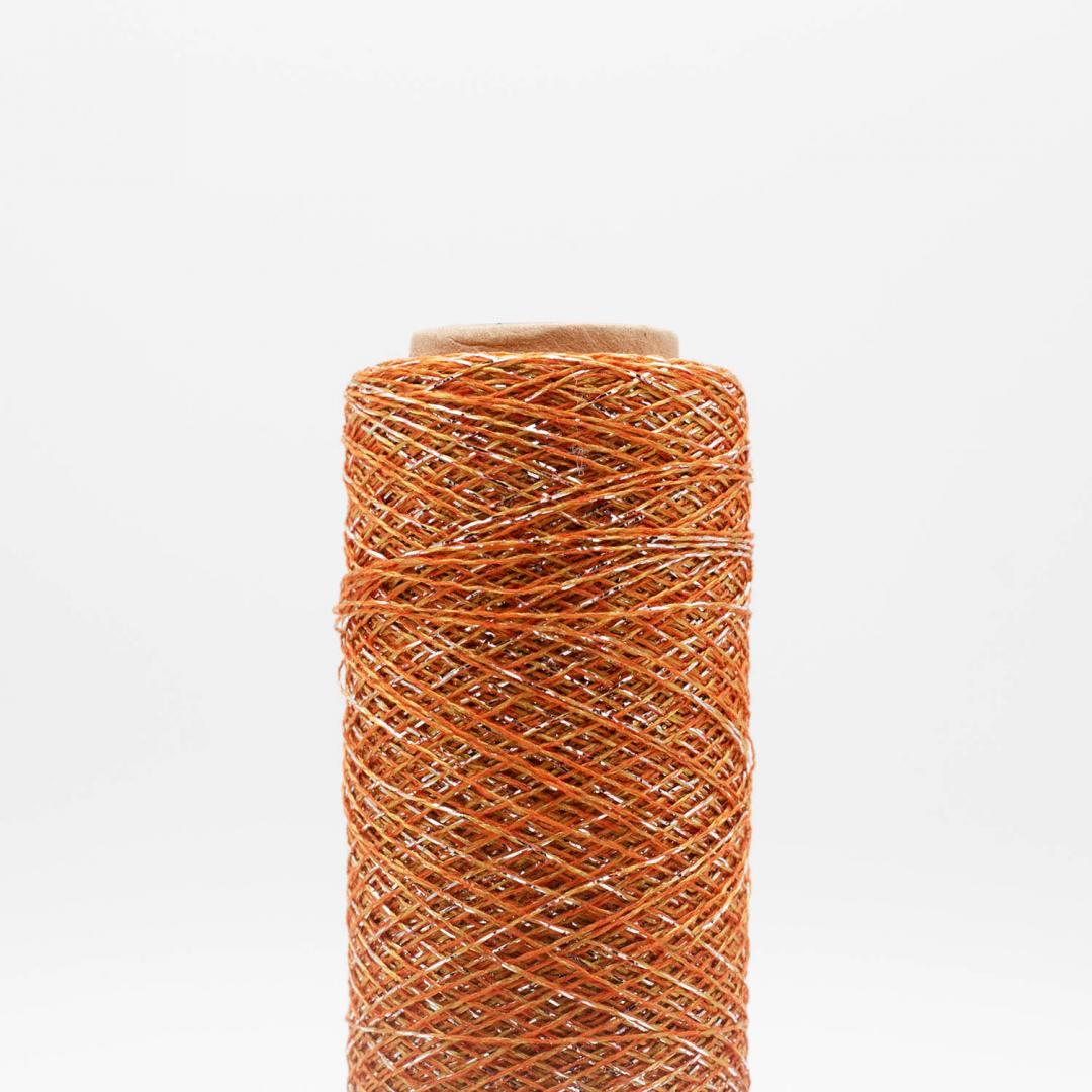 Kremke Soul Wool Stellaris Burnt Orange Silver