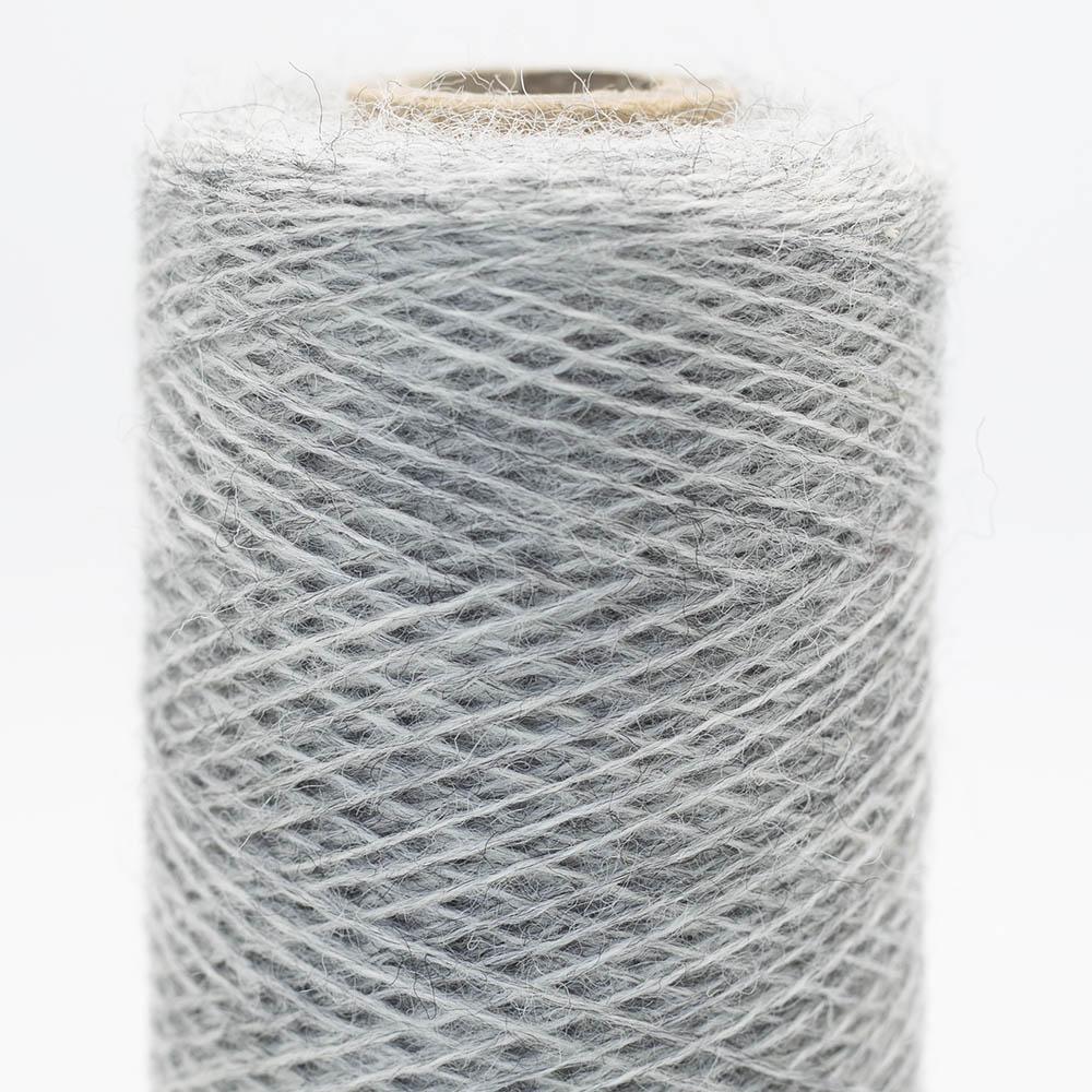 Kremke Soul Wool Merino Cobweb lace Light Grey Heather
