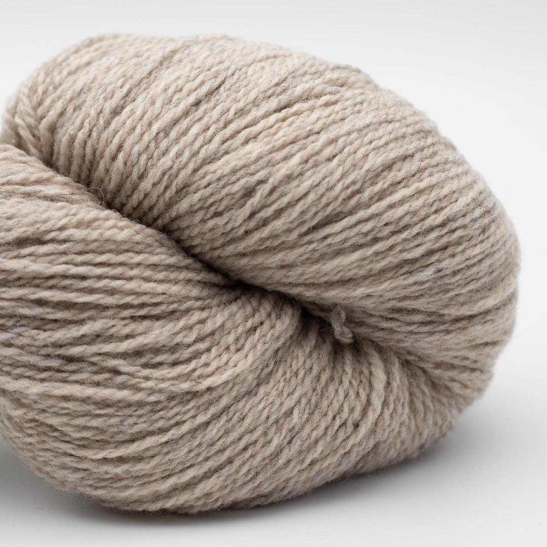BC Garn Semilla Pura GOTS Beige Grey Marled
