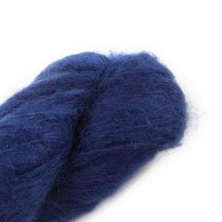 Cowgirl Blues Fluffy Mohair Semi Solids 36-Indigo