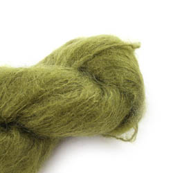 Cowgirl Blues Fluffy Mohair Semi Solids 11-Olive