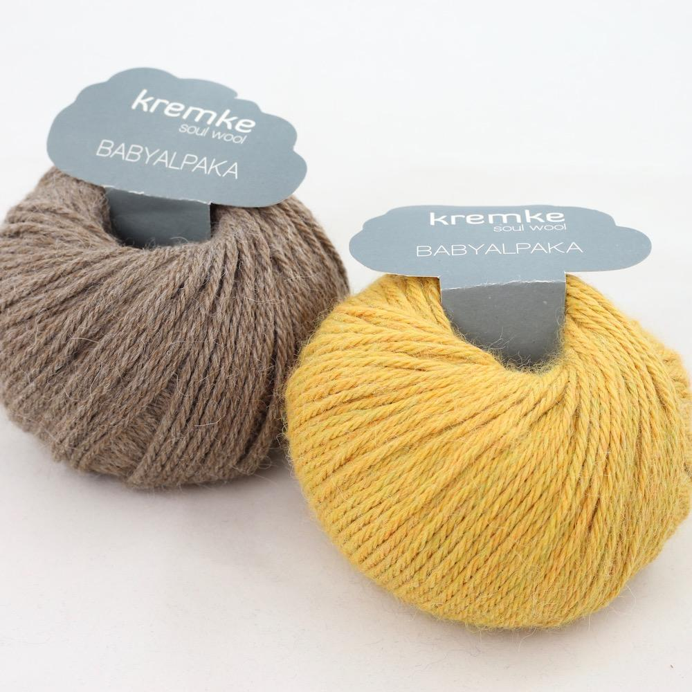 Kremke Soul Wool Baby Alpaka Sommergetreide
