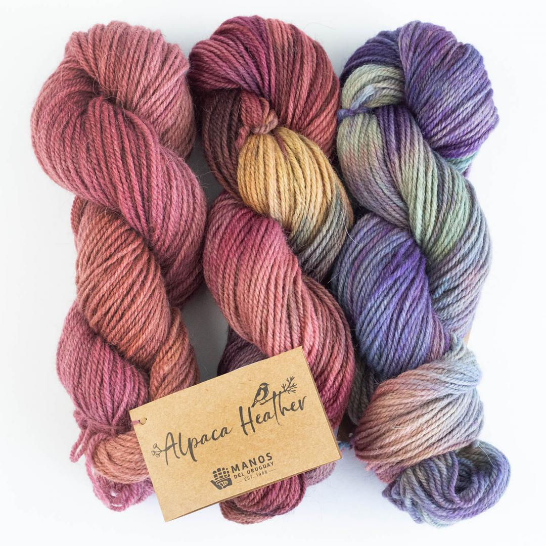 Manos del Uruguay Alpaca heather Gradient