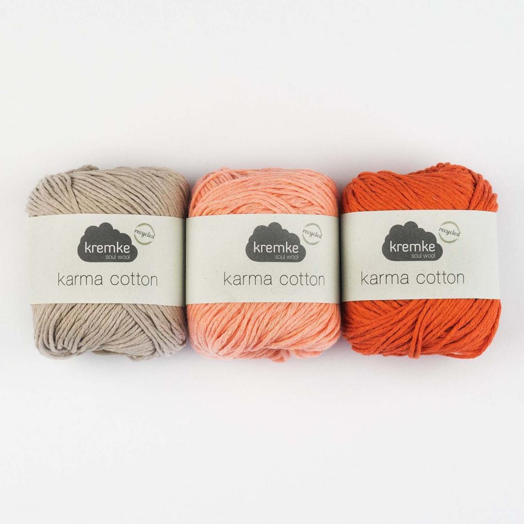 Kremke Soul Wool Karma Cotton, coton recyclé