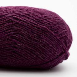 Kremke Soul Wool Edelweiss Alpaca 4-ply 25g Dark Violet