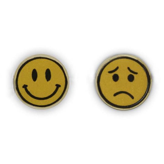 Jim Knopf Bouton coco smiley 16mm
