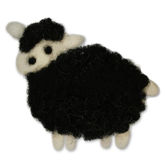 Jim Knopf Moutons en feutrine 70mm