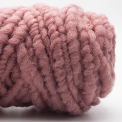 Kremke Soul Wool Rugby Rug Wool dyed Altrosa