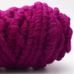 Kremke Soul Wool Rugby Rug Wool dyed Cyclam