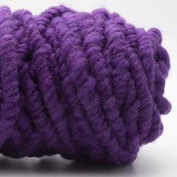Kremke Soul Wool Rugby Rug Wool dyed Lila
