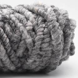 Kremke Soul Wool Rugby Rug Wool dyed Silbergraumeliert
