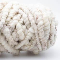 Kremke Soul Wool Rugby Rug Wool GOTS undyed Naturweiß Braun ungefärbt