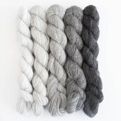 BC Garn Babyalpaca 10/2 25g NEW Shades of Grey
