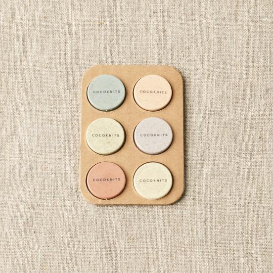CocoKnits Set de magnets colorés