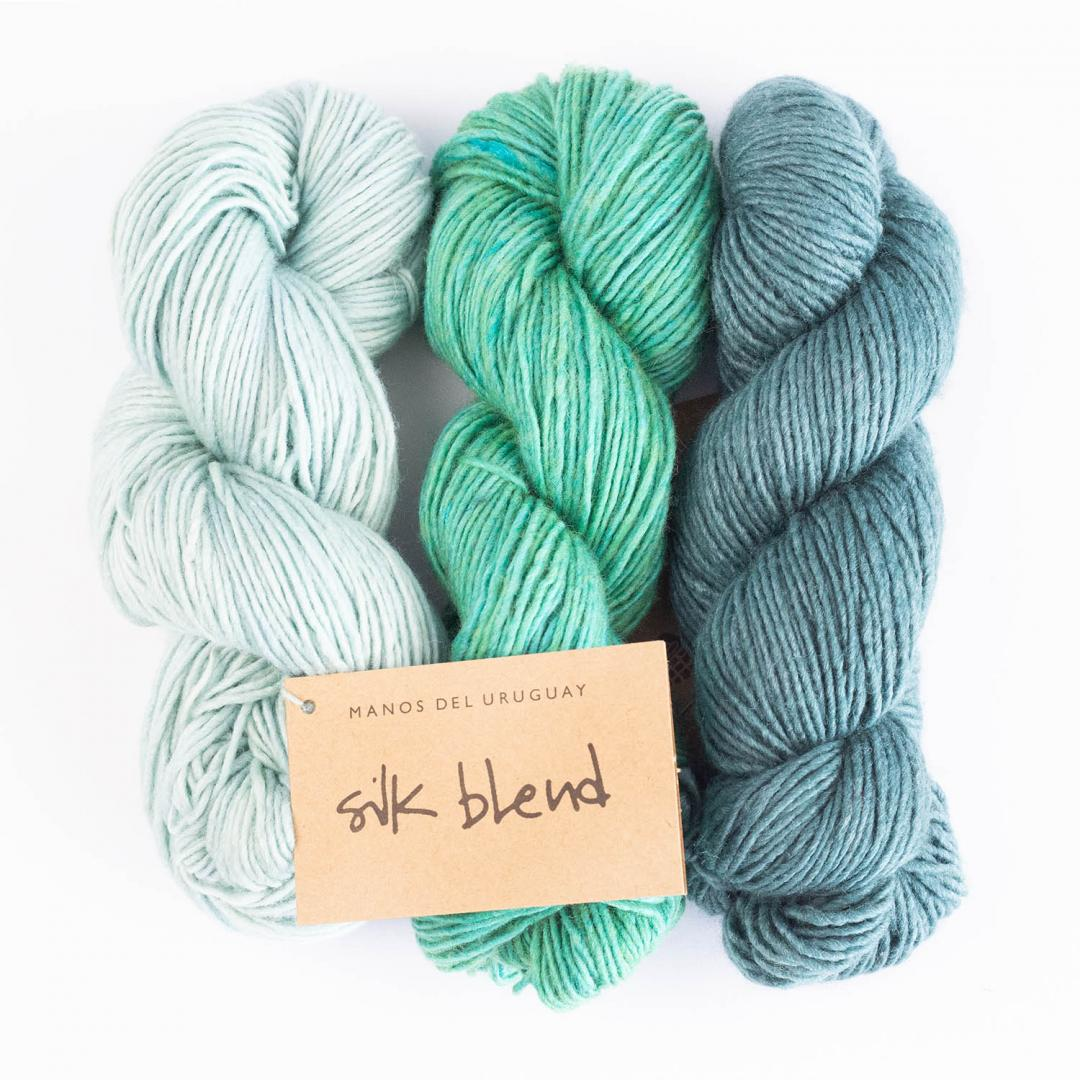 Manos del Uruguay Silk Blend Uni teint à la main