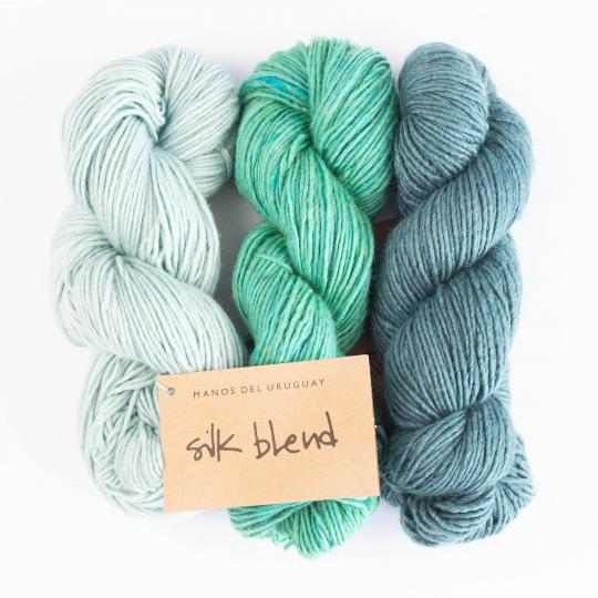 Manos del Uruguay Silk Blend - solid