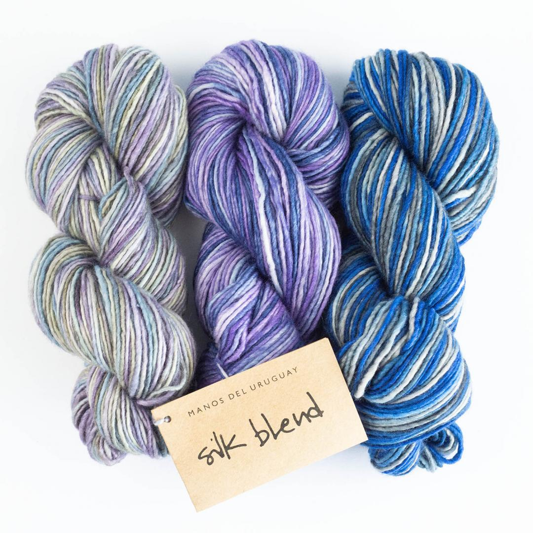 Manos del Uruguay Silk Blend gradient  teint à la main
