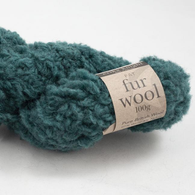 Erika Knight Fur Wool Mallard