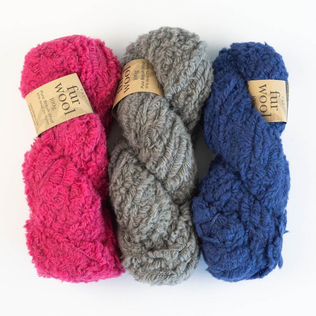 Erika Knight Fur Wool  Pretty