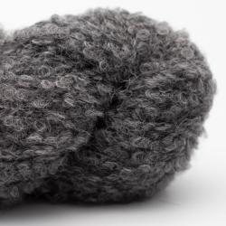 Kremke Alpaca Bouclé Silbergrau