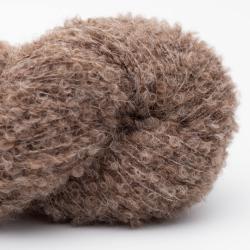 Kremke Alpaca Bouclé Mittelbraun