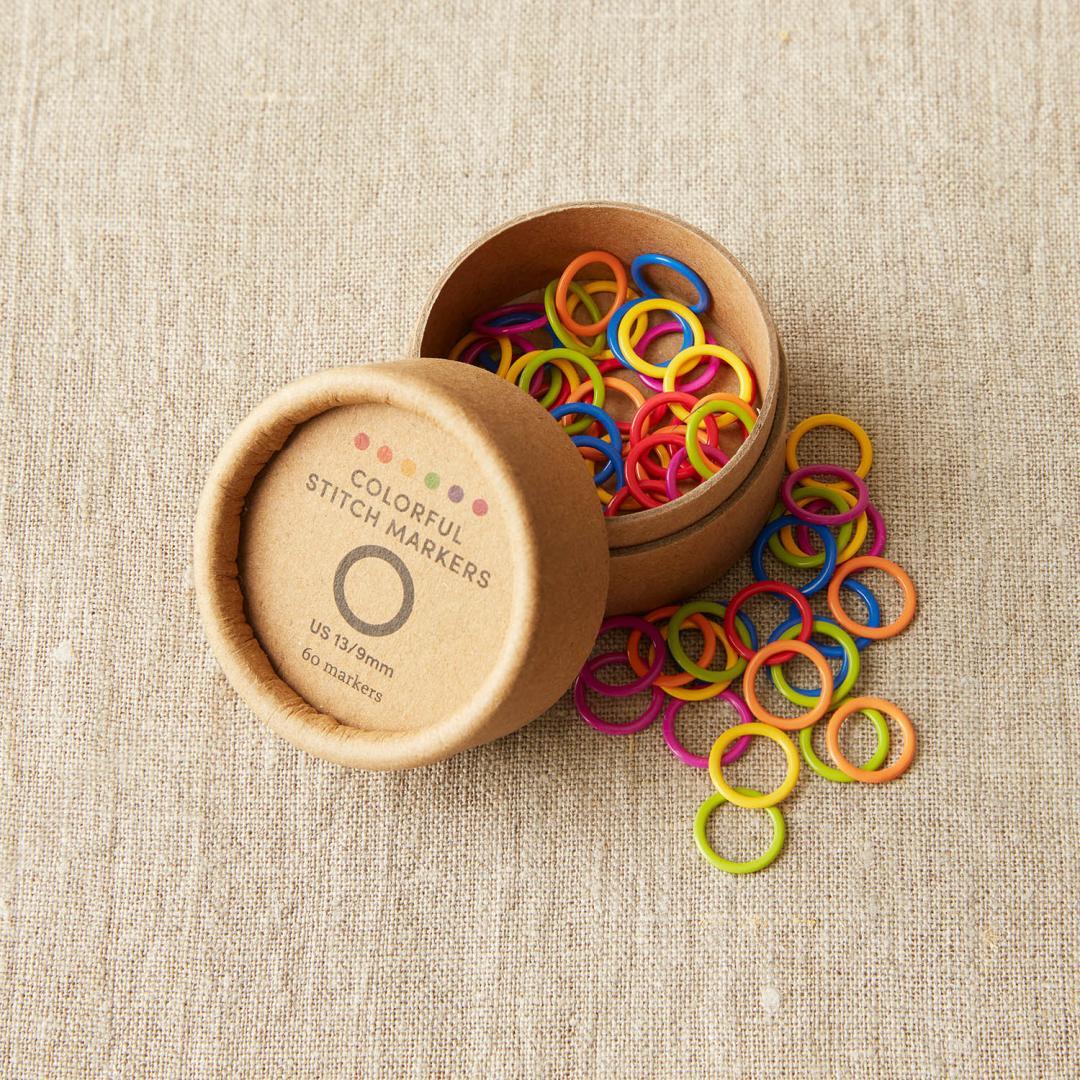 CocoKnits Anneaux marqueurs de couleur