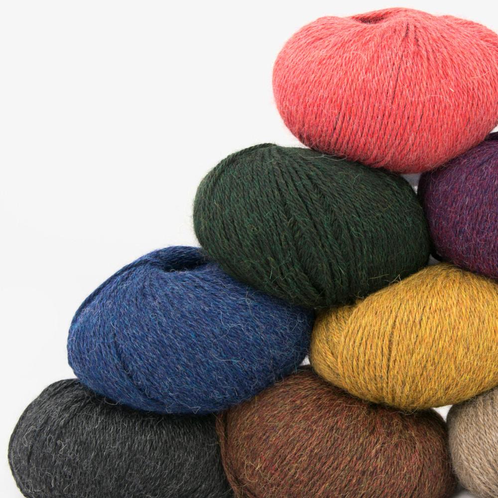 120 qualités différentes dans plus de 3000 couleurs